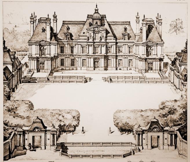 Maisons laffitte la ville du cheval part i equestrian architecture - Ecurie maison laffitte ...