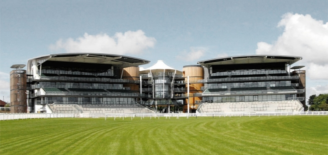 Aintree racecourse-Grand National-grandstands- architecture-Claudia Satrustegui-equestrian architecture