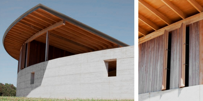 Equestrian architecture-Claudia Satrústegui-architecture-barn-stable-equestrian center-curves-design-Australia-horse- Seth Stein Architects-Watson Architecture + Design