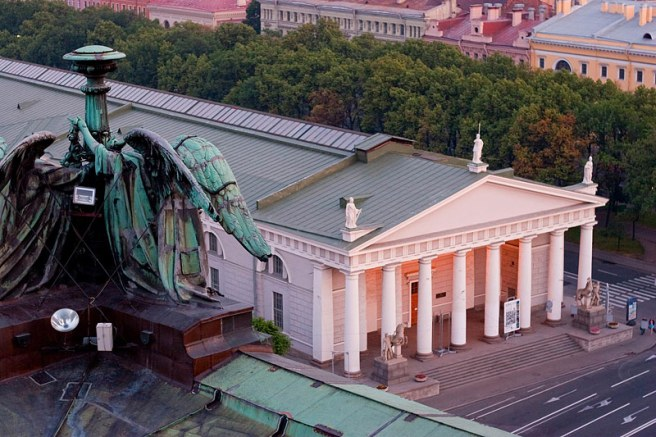 Equestrian architecture-Claudia Satrustegui-Manege-architecture-neoclassic-design-Horse Guards riding school-St Petersburg-russia-imperial guard-aerial-Quarenghi- Triscornia